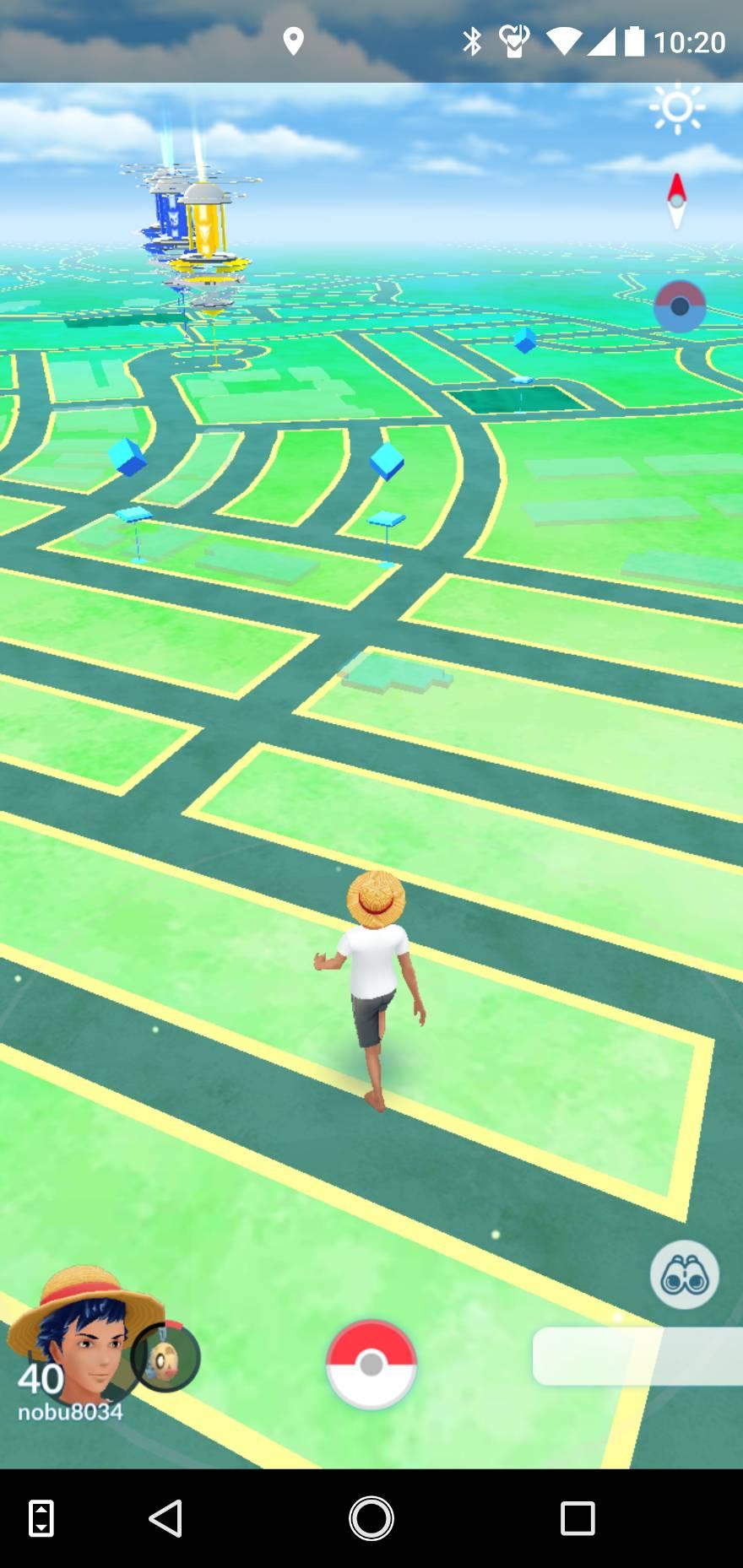 【ポケモンGO】うちの主人公が裸足で歩き回るけど何か?