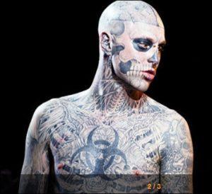 【芸能】 全身タトゥーモデル ゾンビボーイさんは事故死・・・