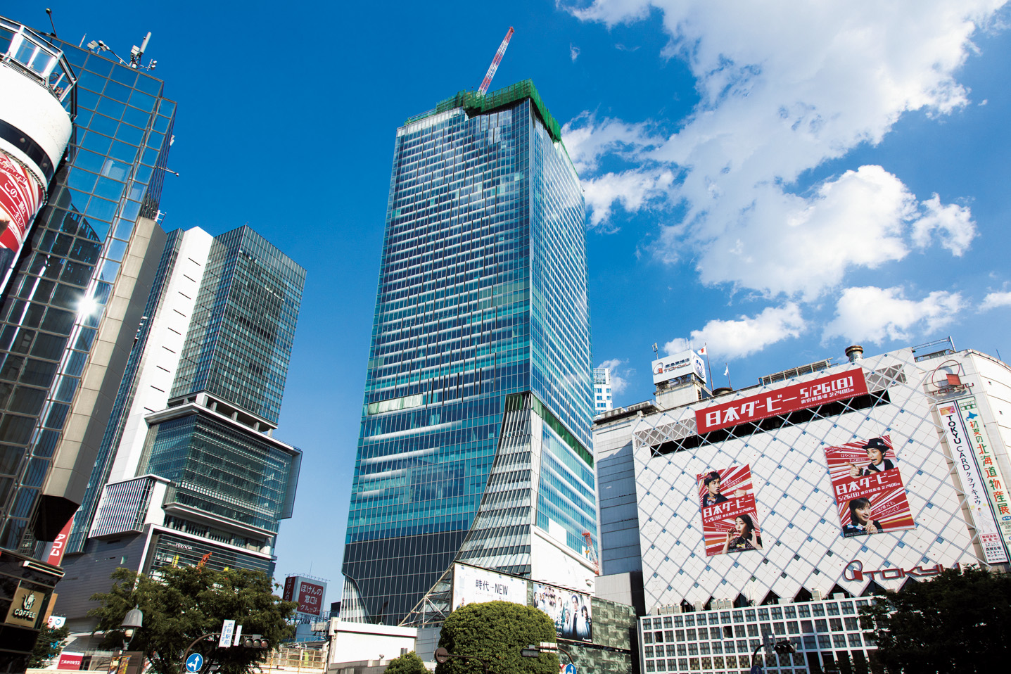 【渋谷】 47階の眺望「渋谷スクランブルスクエア」 11月1日 オープン!!