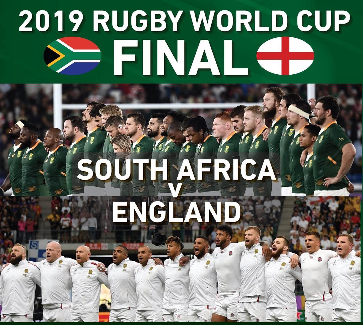 【ラグビー】 ワールドカップ2019 南アフリカがイングランドを制し優勝!!