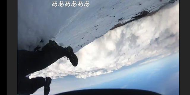 【富士山】1キロ滑落からライブ配信者も生還の可能性
