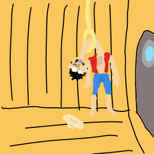 【ワンピース】突然ルフィが船内の部屋で首吊り自殺したら